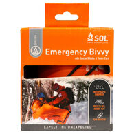 SOL Emergency Bivvy w/ Rescue Whistle & Tinder Cord
