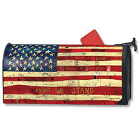 MailWraps Home Of The Brave Mailbox Cover