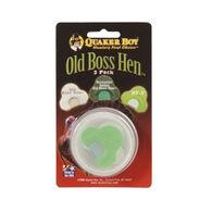 Quaker Boy Old Boss Hen Diaphragm Call - 3 Pk.