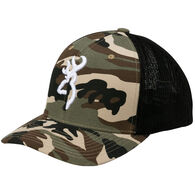 Browning Men's Colstrip Mesh Back Camo Cap