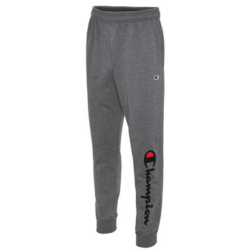 Champion Mens Powerblend Script Logo Graphic Jogger