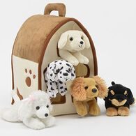 Unipak Designs Plush Dog House - 6 Piece