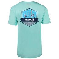Hook & Tackle Men's Rods Up Premium Reserve Fishing Short-Sleeve T-Shirt
