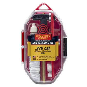 Shooters Choice 270 Cal. Rifle Cleaning Kit