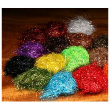 Hareline Polar Reflector Flash Chenille Fly Tying Material