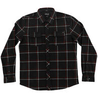 O'Neill Men's Glacier Series Two Plaid Long-Sleeve Shirt