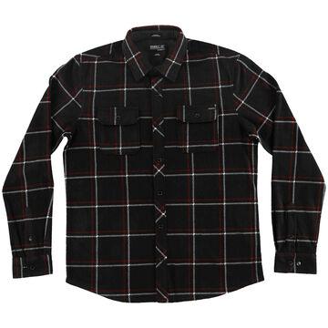 ONeill Mens Glacier Series Two Plaid Long-Sleeve Shirt