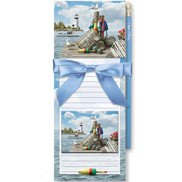 Cape Shore Dockside Magnetic Pad Gift Set