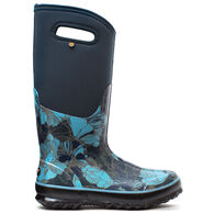 Bogs Women's Classic Tall Vintage Floral Waterproof Insulated Boot