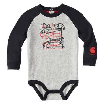 Carhartt Infant/Toddler Boys Tools of the Trade Long-Sleeve Bodyshirt