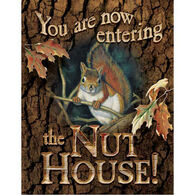 Wild Wings Nut House Tin Sign