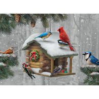 LPG Greetings Holiday Bird Feeder Boxed Christmas Cards