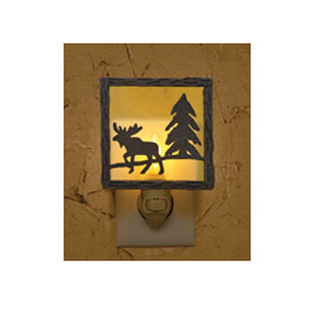 Park Designs Moose Night Light