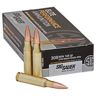 SIG Sauer Elite Performance Match 308 Win 168 Grain OTM Rifle Ammo (20)