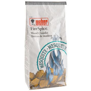 Weber FireSpice Mesquite Wood Chunk Bag
