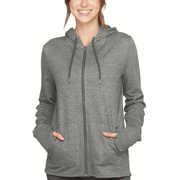 Colosseum Womens Serenity Hooded Full Zip Jacket