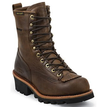 Chippewa Mens 8 Paladin Waterproof Lace-Up Boot