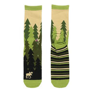 Lazy One Women's Forest Crew Sock
