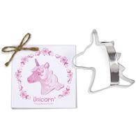 Ann Clark Tin Cookie Cutter - Unicorn