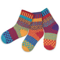 Solmate Boys' & Girls' Firefly Sock, 3/pc