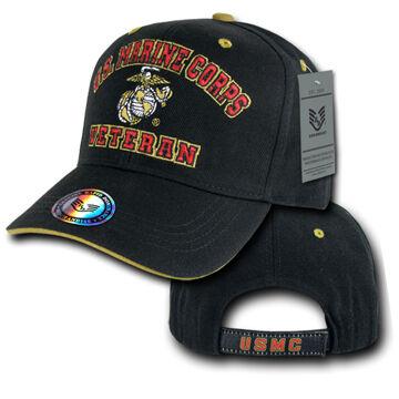 Rapid Dominance Mens Veteran Marines Military Branch Cap