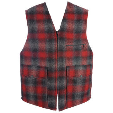 Johnson Woolen Mills Mens Lined Vest