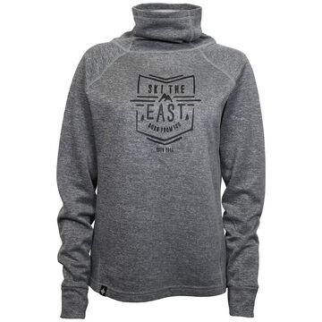 Ski The East Womens Pinnacle Funnel Neck Lightweight Sweatshirt