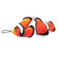 Steel Dog Saltwater Fish w/ Rope Stuffing-Free Dog Toy