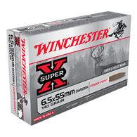 Winchester Super-X 6.5x55 Swedish 140 Grain Power-Point Rifle Ammo (20)