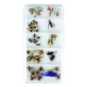 Flambeau 10-Compartment Streamside Fly Box