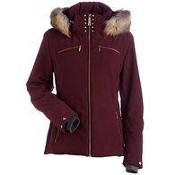 Nils Women's Karen Real Fur Trim Jacket