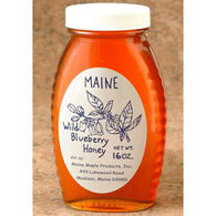 Maine Maple Products Blueberry Honey, 16 oz.