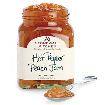 Stonewall Kitchen Hot Pepper Peach Jam - 11.25 oz.