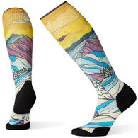 Smartwool Women's PhD Ski Light Elite Afterglow Print Sock