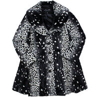 Parkhurst Women's Leopard Swing Coat
