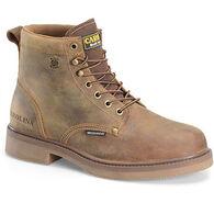 "Carolina Shoe Men's 6"" Soft Toe Smooth Sole Waterproof Work Boot"