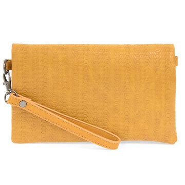 Joy Susan Womens Kate Woven Crossbody Clutch Handbag
