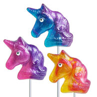 Melville Candy Company Glitter Swirl Unicorn Lollipop