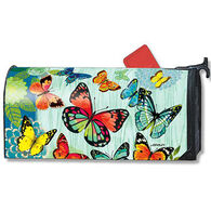 MailWraps Butterfly Flight Magnetic Mailbox Cover
