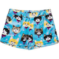 Candy Pink Girls' Kittens Pajama Short