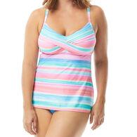 Beach House - Gabar - Swimwear Anywhere Women's Lucy Twist Sunset to Sunset Tankini Top