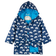 Hatley Boys' Colour Changing Monster Trucks Classic Rain Jacket