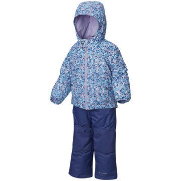 Columbia Toddler Boys & Girls Frosty Slope Insulated 2-Piece Omni-Shield Set