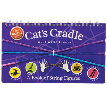 Klutz Cats Cradle: A Book of String Figures Craft Kit by Anne Akers Johnson
