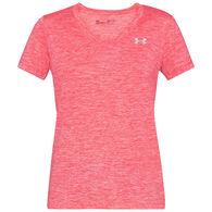 Under Armour Women's UA Tech Twist V-Neck Short-Sleeve T-Shirt