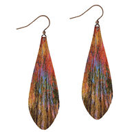 Illustrated Lights DC Designs Teardrop Earring