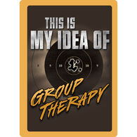 Rivers Edge Group Therapy Embossed Tin Sign