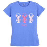 Soft As A Grape Women's Lobsters Love Maine Short-Sleeve T-Shirt