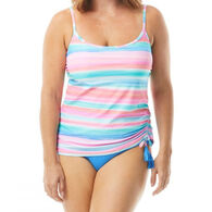 Beach House - Gabar - Swimwear Anywhere Women's Bridget Side Shirred Underwire Sunrise to Sunset Tankini Top