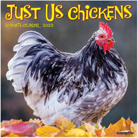 Willow Creek Press Just Us Chickens 2022 Wall Calendar